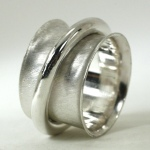 Big Beefy Sterling Spinner Ring