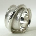 Big Beefy Sterling Spinner Ring
