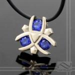 Zoras Sapphire pendant hand made