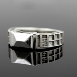 TARDIS Ring Sterling Silver