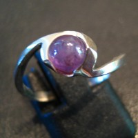 Alexandrite Wave Ring