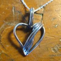 Silver Heart Pendant Recreation