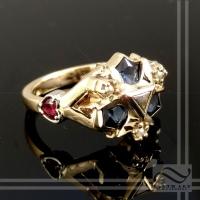 Custom Zora Sapphire - With Hearts