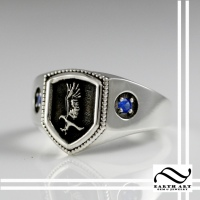 Raven Claw House Ring