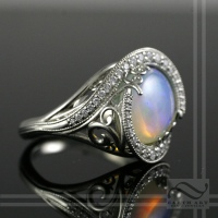 Opal Intwined - An Engagement ring