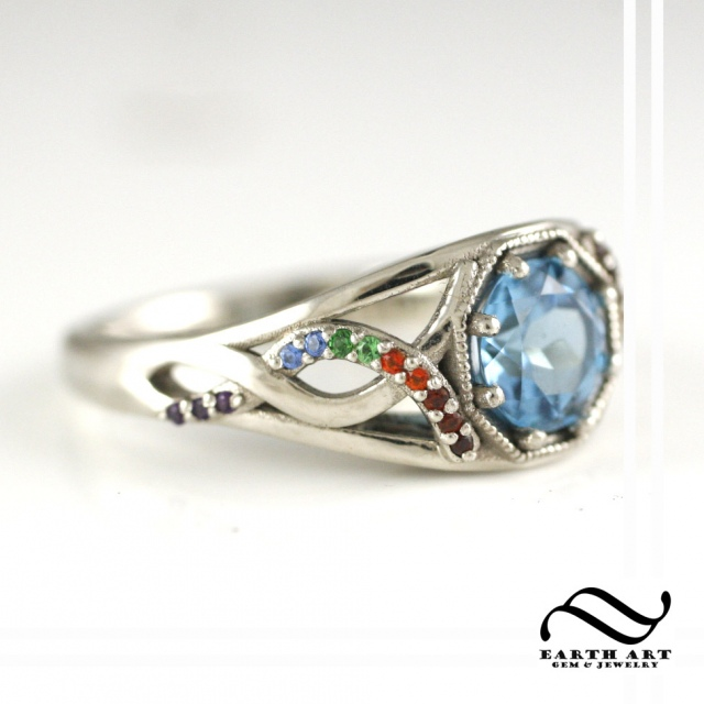 Vintage Inspired Class Ring