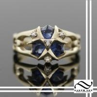 14k Custom Zoras Sapphire Ring