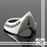 Boldly Go - Star trek Ring