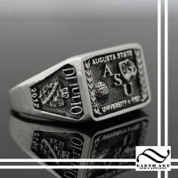 Custom Class Ring - Augusta State University