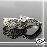 Diamond Thai Inspired Wedding Set
