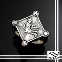 Custom Poke Mon Signet Ring - Ninetails