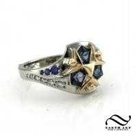 Custom Zora Sapphire Ring