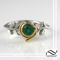 Custom Kokiri Emerald Ring