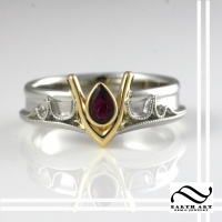 Custom Goron Ruby Ring